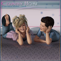Country Home, Kids Bedroom image 6