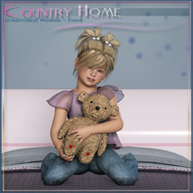 Country Home, Kids Bedroom image 7