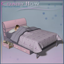 Country Home, Kids Bedroom image 3