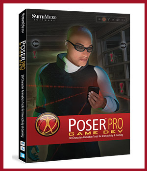 Poser Pro GAME DEV Poser Software : Smith Micro 3D Software : Poser : Daz Studio : iClone Smith_Micro