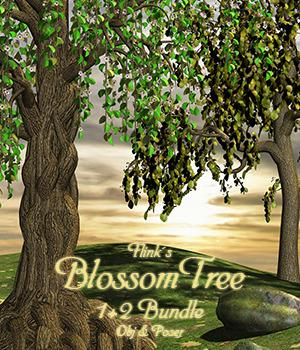 Flinks Blossom Tree 1 & 2 - Extended License 3D Models Gaming\Extended Licenses Flink