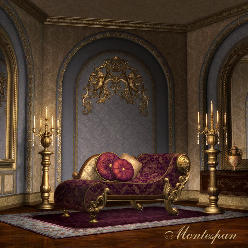 Montespan Interior - Extended License