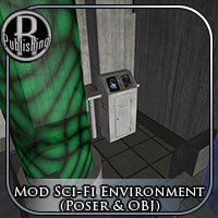 Modular Sci-Fi Enviro - Extended License 3D Models Extended Licenses RPublishing