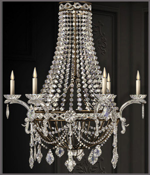 GCD Chandeliers - Extended License Gaming 3D Models GrayCloudDesign