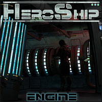 HeroShip Engine Room - Extended License 3D Models Gaming 3-d-c
