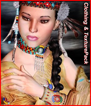 RT-V4 Native American - Extended License 3D Figure Essentials renapd