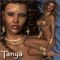 Tanya - Extended License 3D Figure Essentials RPublishing