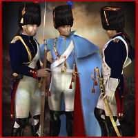 RT-Napoleonic M4 Grenadiers A Cheval - Extended License 3D Models 3D Figure Essentials renapd