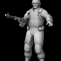Soldier (Low Res) - Extended License image 8