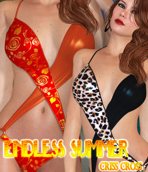 Endless Summer - Criss Cross 3D Figure Assets kaleya