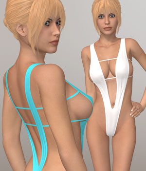Tiny Bikini VIII 3D Figure Essentials 3D-Age