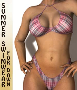 SUMMER SWIMWEAR for Dawn 3D Figure Essentials MrRude