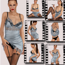 SAVll Athena Slip Dress & Poses image 6