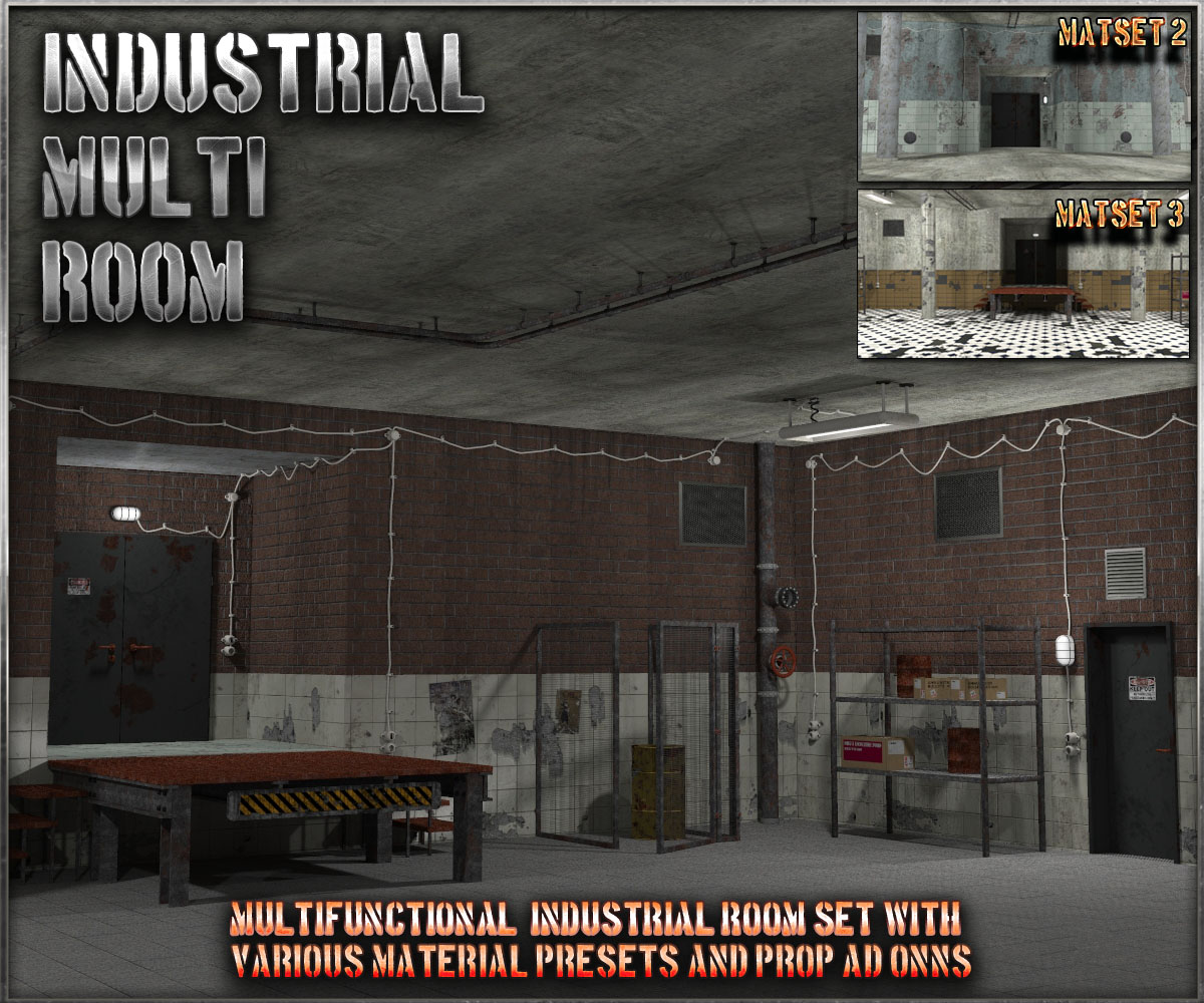 Industrial Multi Room