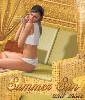 Summer Sun and more 3D Models Atenais