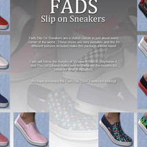 Fads Slip On Sneakers image 1