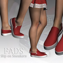 Fads Slip On Sneakers image 3