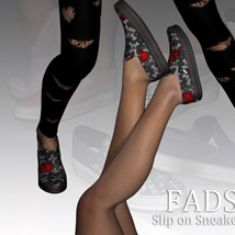 Fads Slip On Sneakers image 4
