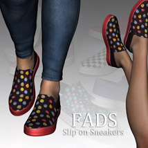 Fads Slip On Sneakers image 5