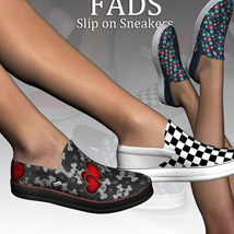 Fads Slip On Sneakers image 7