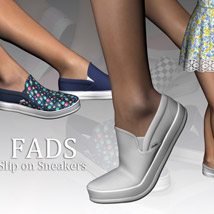 Fads Slip On Sneakers image 8