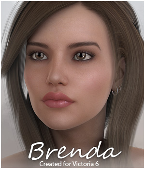 Sabby-Brenda for Victoria 6 3D Figure Essentials Sabby