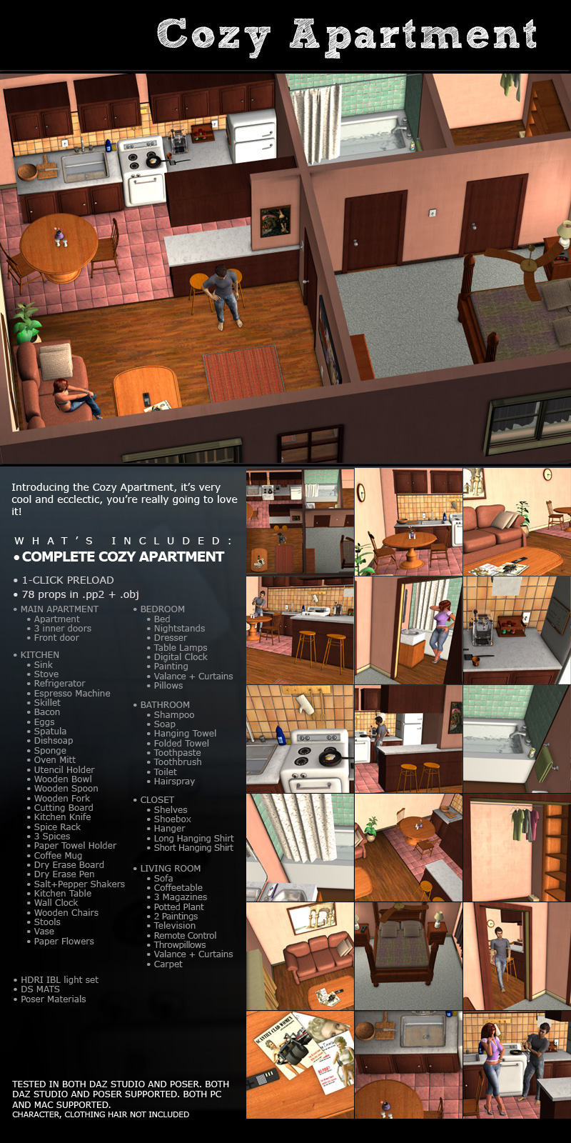 Cozy Apartment - Extended License by ironman13