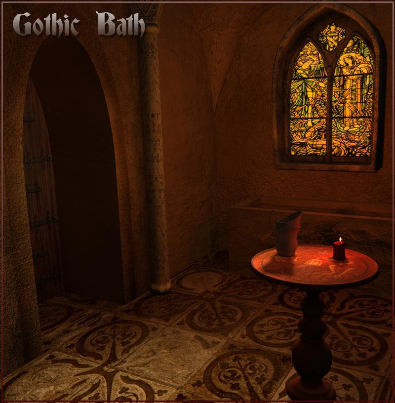 Gothic Bath - Extended License