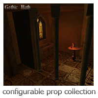 Gothic Bath - Extended License image 2