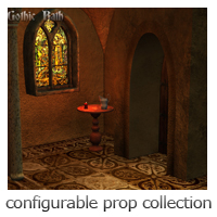 Gothic Bath - Extended License image 5