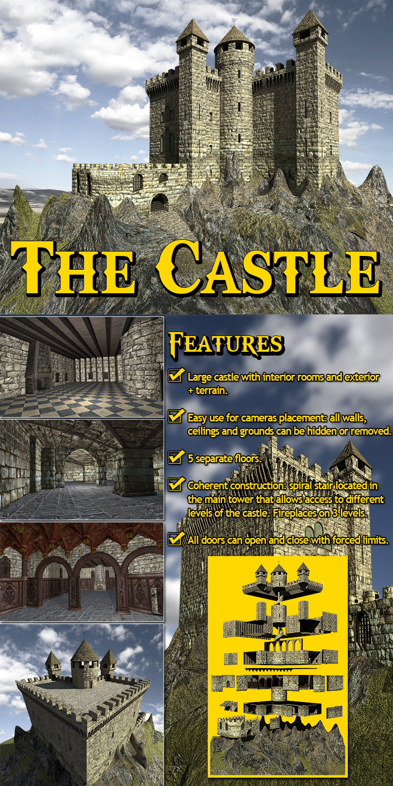 The Castle - Extended License