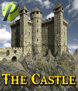 The Castle - Extended License 3D Models powerage