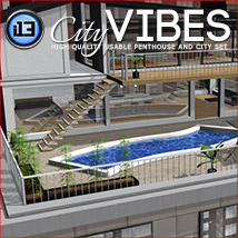 i13 City VIBES - Extended License 3D Models ironman13