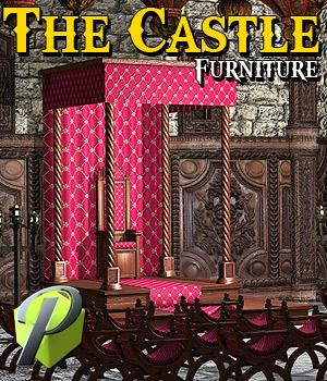 The Castle Furniture - Extended License 3D Models powerage