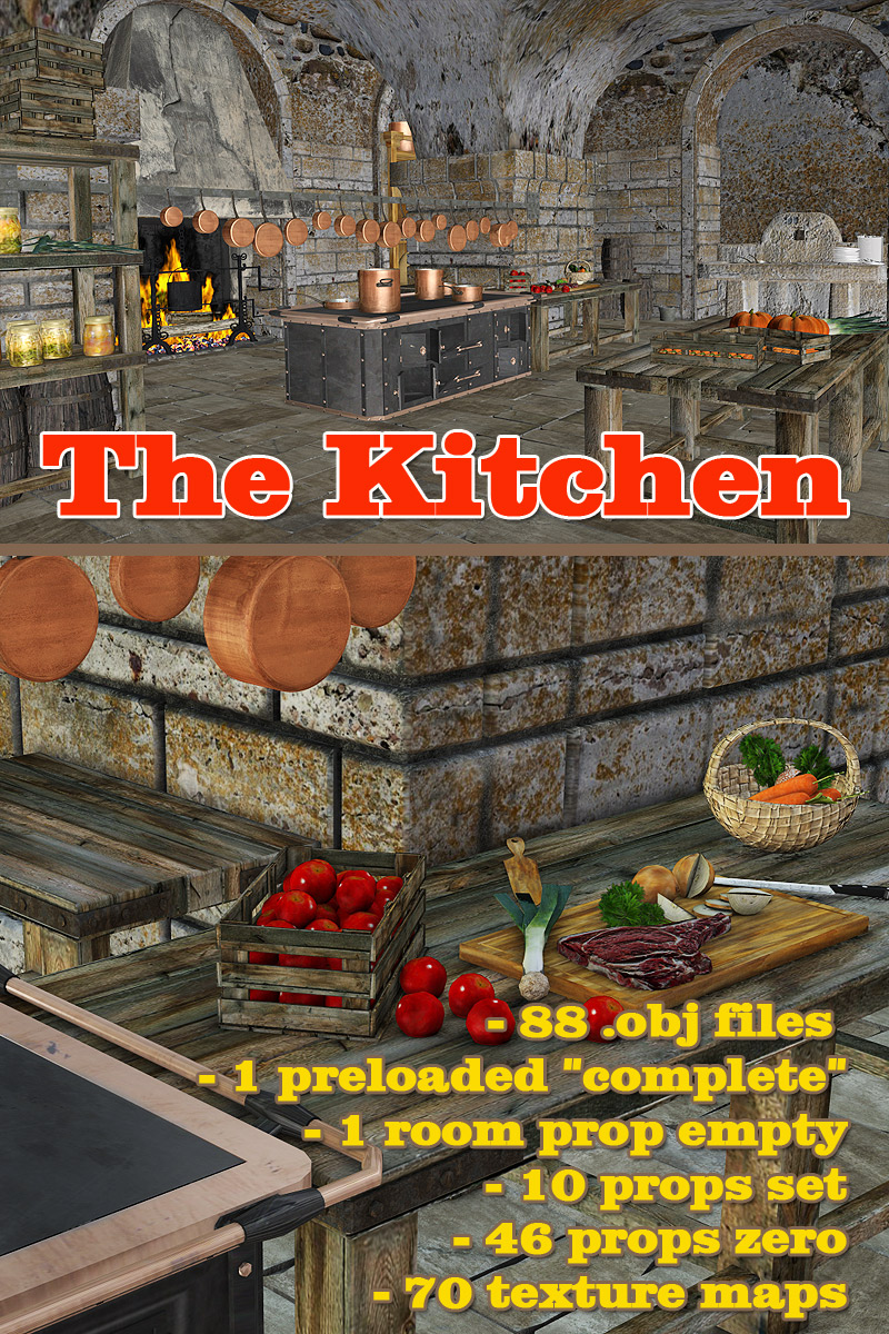 The Kitchen - Extended License