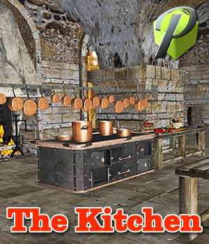 The Kitchen - Extended License 3D Models powerage