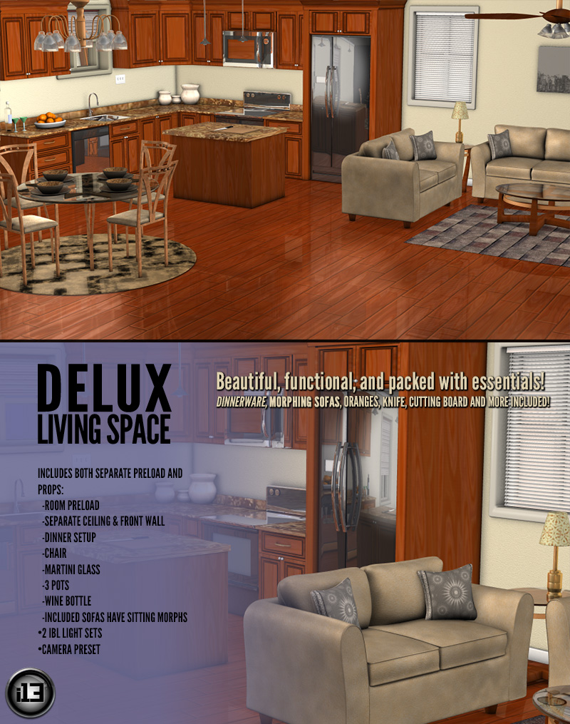 i13 Delux Living Space - Extended License