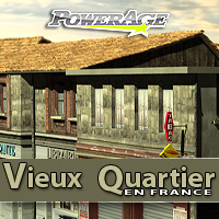 Vieux Quartier - Extended License 3D Models Gaming powerage