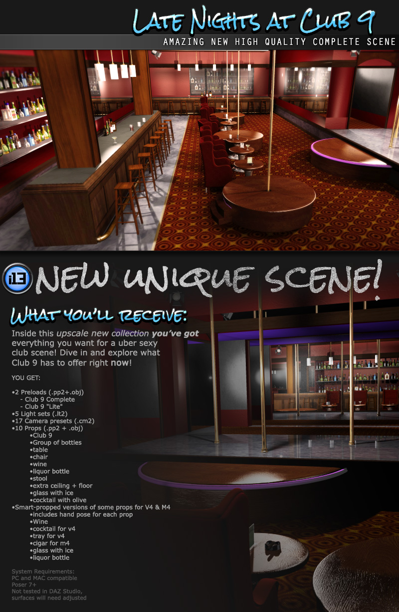 i13 Late Nights at CLUB 9 - Extended License