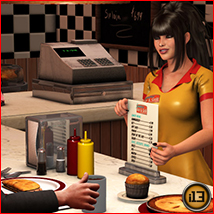 i13 Late Nights at the DINER - Extended License image 1