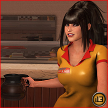i13 Late Nights at the DINER - Extended License image 4