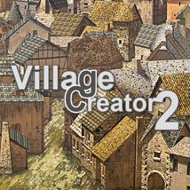 Village Creator 2 - Extended License Gaming 3D Models powerage