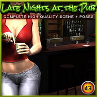 i13 Late Nights at the PUB - Extended License 3D Models 3D Figure Assets ironman13