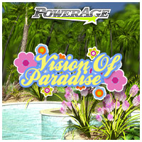Vision of Paradise base - Extended License 3D Models Software powerage