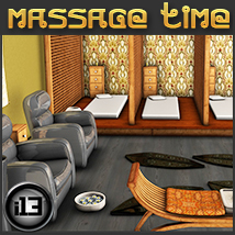 i13 Massage Time - Extended License 3D Models ironman13