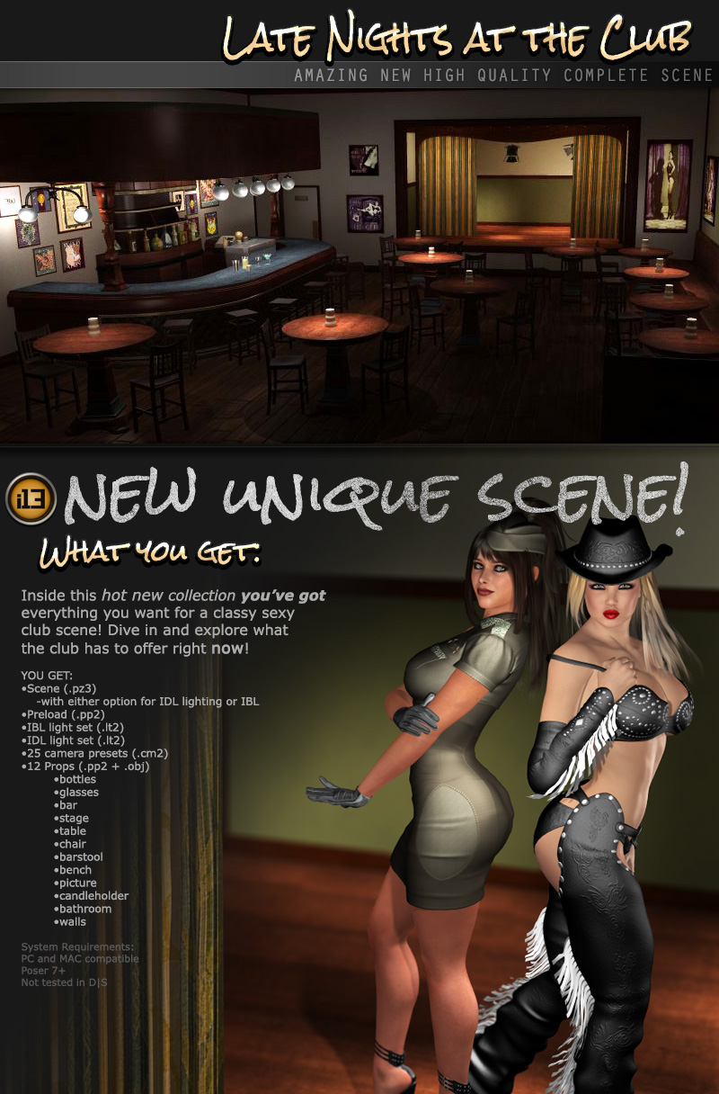 i13 Late Nights at the Club - Extended License by ironman13