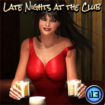 i13 Late Nights at the Club - Extended License 3D Models Extended Licenses ironman13