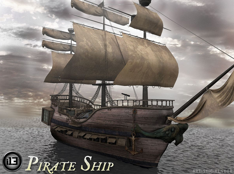 i13 Pirate Ship - Extended License