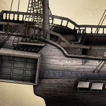 i13 Pirate Ship - Extended License image 1
