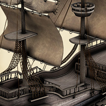 i13 Pirate Ship - Extended License image 2